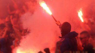 Spotkanie kibiców Ruchu Chorzów w Rudzie Śląskiej. Nielegalne zgromadzenie przerwała policja