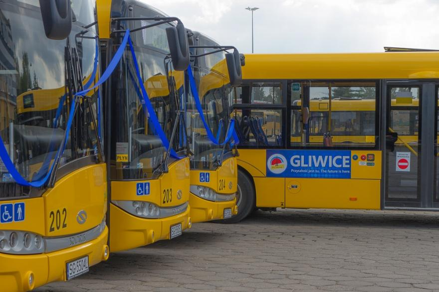 Nowe autobusy dla Gliwic i Jaworzna
