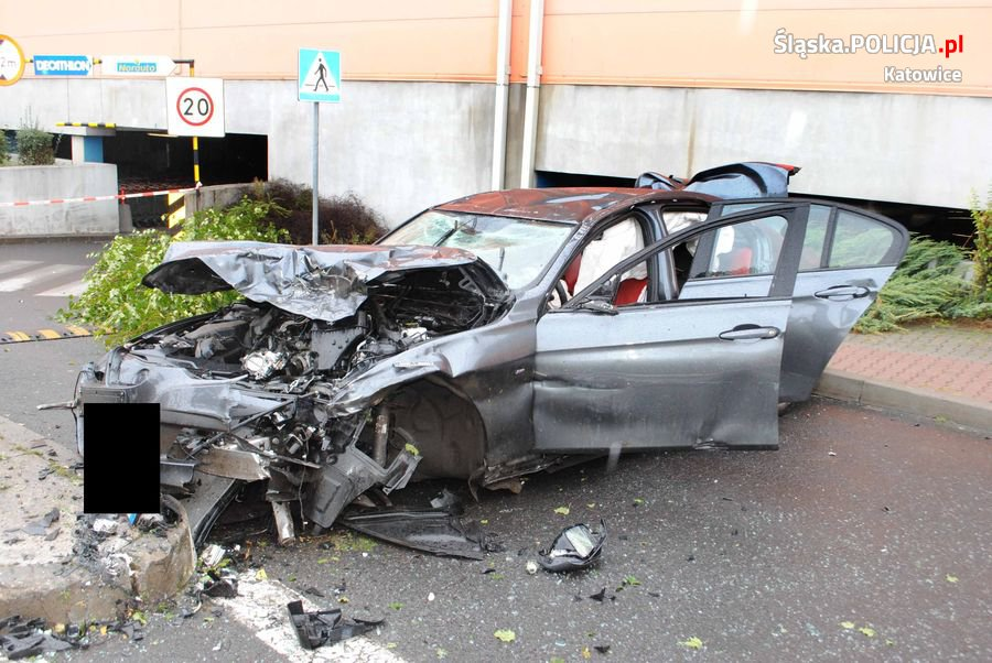 Tragiczny wypadek na DTŚ w Katowicach
