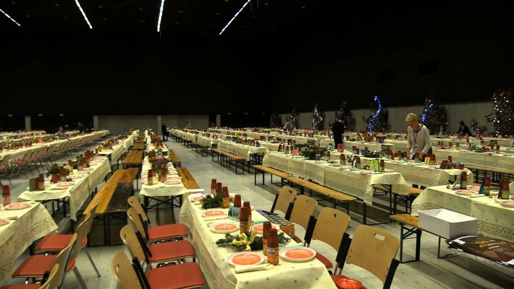 24 grudnia w Międzynarodowym Centrum po raz kolejny odbędzie się największa wigilia dla potrzebujących - Wigilia dla Samotnych