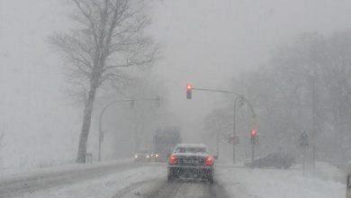 śnieżyca w woj.śląskim