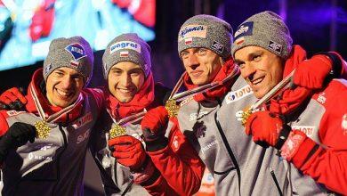 Puchar Świata w skokach narciarskich w Zakopanem. Polacy na trzecim miejscu (fot.archiwum TVS)
