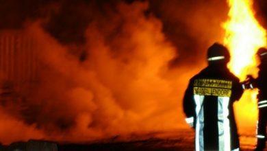 pożar w Bładnicach Dolnych