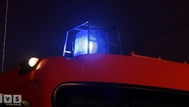 Pożar w Jastrzębiu-Zdroju: trzy osoby przewiezione do szpitala