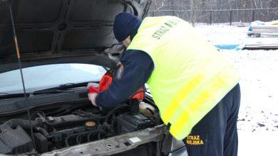 Ruda Śląska: Nie odpalił Ci samochód? Zadzwoń po straż miejską!