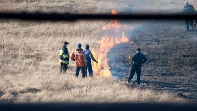 Policja przypomina - wypalanie traw jest niedozwolone! (fot.poglądowe)