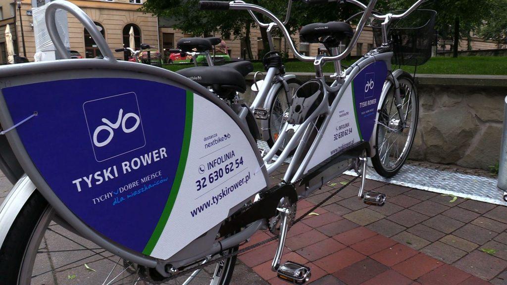 W Tychach wystartował rower miejski. Gdzie można wypożyczyć rowery w Tychach?