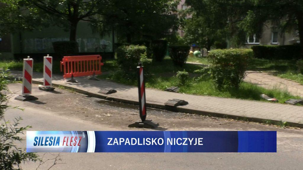 Ruda Śląska: Niebezpieczne zapadlisko w dzielnicy Ruda! Mieszkańcy boją się o życie