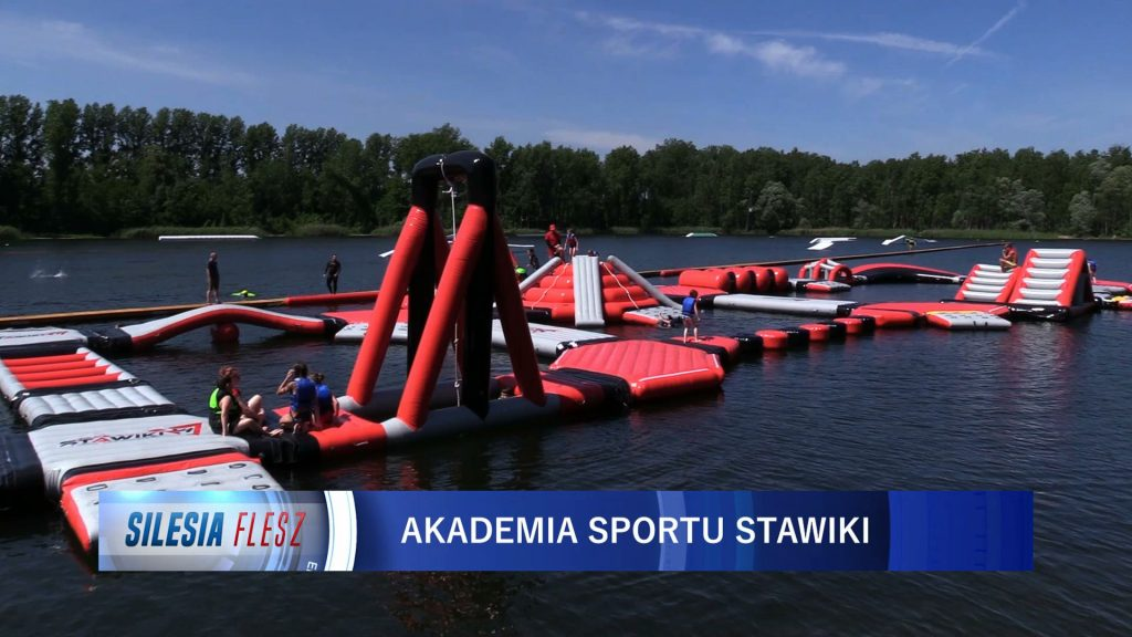 Wielki tor gumowych przeszkód to najnowsza atrakcja ośrodka Wake Zone Stawiki w Sosnowcu