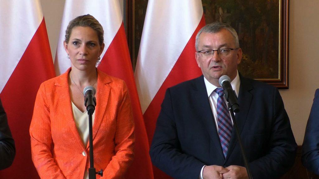 Wyjazdowe posiedzenie członków Komisji Infrastruktury z parlamentarzystami ze Słowacji odbyło się w Katowicach
