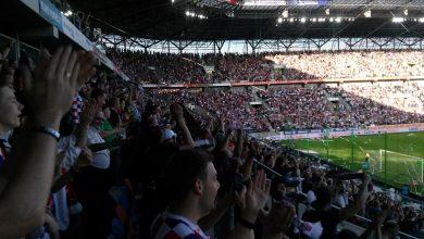 Górnik Zabrze - Wisław Kraków 1-0 do przerwy! Górnik walczy o puchary przy pełnych trybunach! (fot.Radosław Nosal)