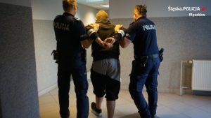 Okazuje się, że mężczyzna, który portfela na widok policyjnego patrolu postanowił się pozbyć - miał ku temu ważny powód (KPP Myszków)