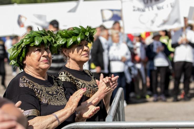 W Łazach pojawili się seniorzy z 71 uniwersytetów trzeciego wieku z całego kraju, a także z Austrii i Ukrainy