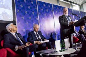 O przyszłości polskiego górnictwa dyskutowano podczas jednego z paneli w trakcie 10. Europejskiego Kongresu Gospodarczego w Katowicach (fot.slaskie.pl)