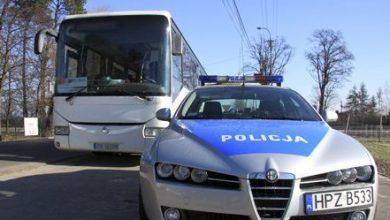 Żywiec: Miał zawieźć dzieci na wycieczkę. Jak się okazało, kierowca autokaru był pijany (fot.Śląska Policja)