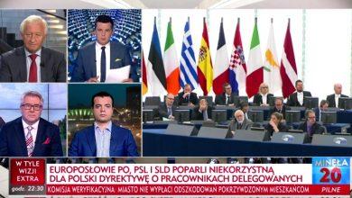 Dziwne głosowanie w Parlamencie Europejskim w sprawie pracowników delegowanych. Co zrobili politycy PO? (TVP Info)