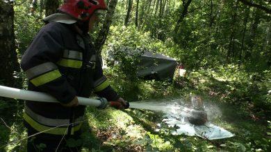 Walka z ogniem w Mysłowicach. Strażacy zawsze dają z siebie 100% [WIDEO] (fot.mat.TVS)