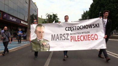Po raz już drugi ulicami Częstochowy przeszedł Marsz Rotmistrza Pileckiego