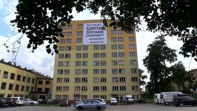 Szpital w Pszczynie zawiesił działalność! Trwa ewakuacja pacjentów [WIDEO] (fot.mat.TVS)