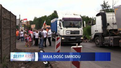 Protest mieszkańców Siemianowic Śląskich przed BM Recykling. Nie chcą smrodu i odpadów