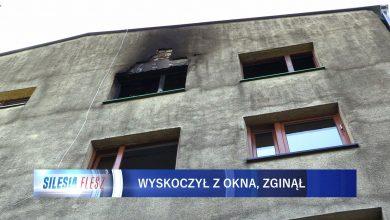 Zabrze: Mężczyzna podczas pożaru wyskoczył z okna na 4. piętrze!