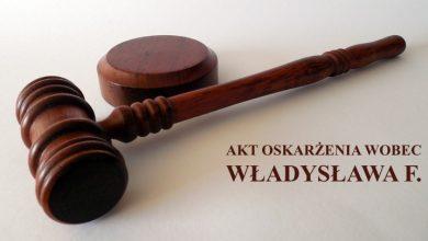 Akt oskarżenia wobec Władysława F. (fot. poglądowe pixabay.com)