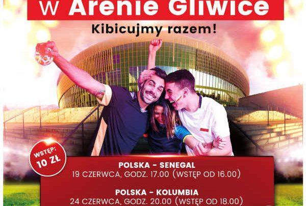 Polska Goooooooola! Wspólne kibicowanie w Gliwicach! (fot.mat.prasowe)