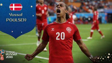 Bardzo wyrównany mecz na Mistrzostwach Świata! Dania minimalnie pokonuje Peru (fot. twitter FIFA)