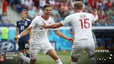 Japonia - Polska (fot. twitter FIFA)