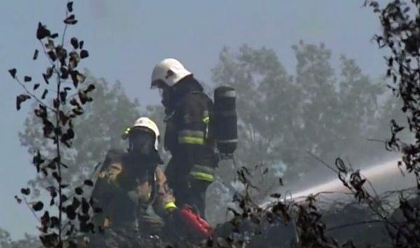 Premier Morawiecki zapowiada walkę z plaga pożarów wysypisk śmieci (fot.TVP Info)