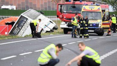 Dwie osoby zginęły, jest wielu rannych! Tragiczny wypadek autobusu w Konstantynowie (fot.TVP Info)