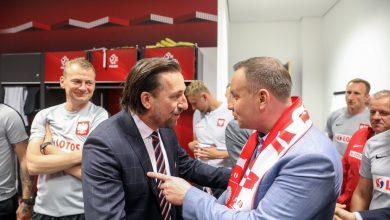 Polska-Litwa 4-0! Prezydent Duda gratulował w szatni piłkarzom zwycięstwa!(fot.twitter/Andrzej Duda)