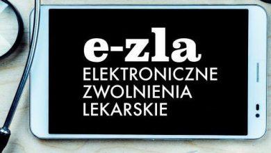 e-ZLA jednak od grudnia. L4 zastąpią elektroniczne zwolnienia lekarskie