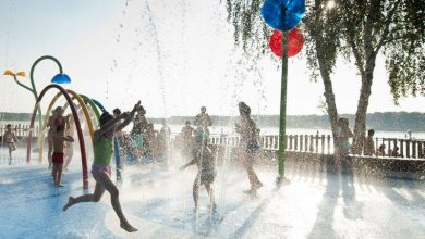 Tychy: Wodny plac zabaw czynny od 23 czerwca! (fot.MOSiR Tychy)