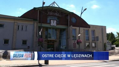 Takie cięcie? Mieszkańcy Lędzin nie zgadzają się z wynagrodzeniem pani burmistrz [WIDEO] (fot.mat.TVS)