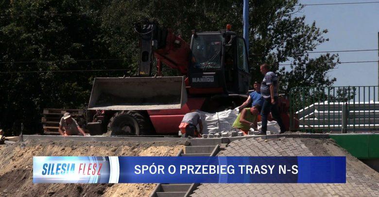 Ruda Śląska: Mieszkańcy obawiają się rozbudowy trasy N-S. Dlaczego? [WIDEO] (fot.mat.TVS)