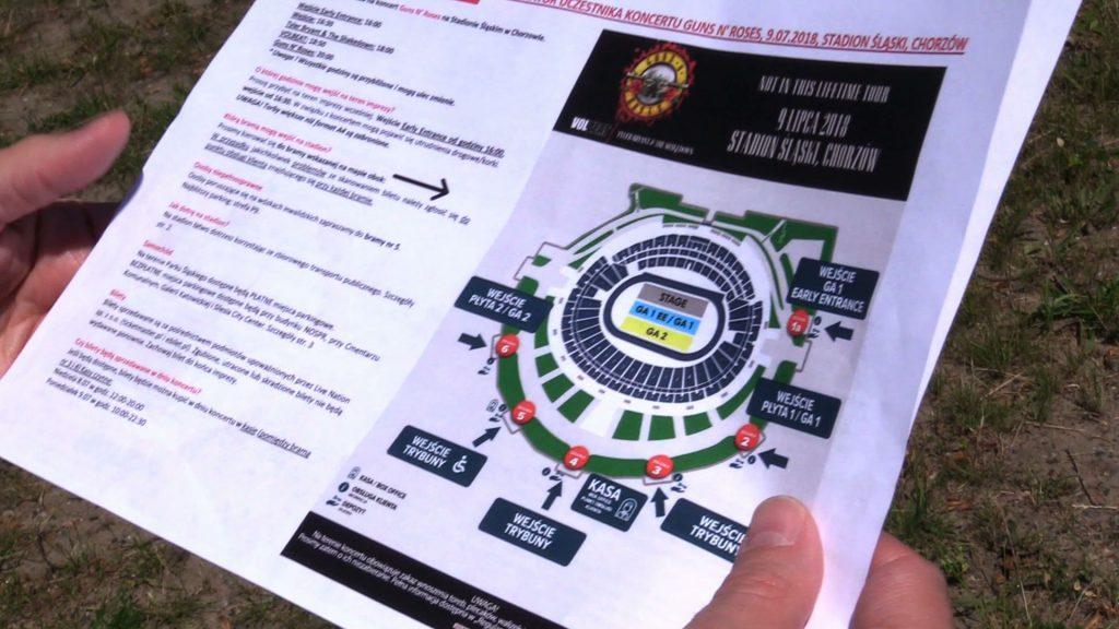 Koncert Guns N' Roses na Stadionie Śląskim 9 lipca: Mieszkańców osiedla Tysiąclecia czeka komunikacyjny horror!