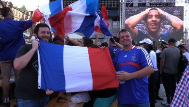 Katowice: Strefa kibica pełna podczas finału Francja-Chorwacja