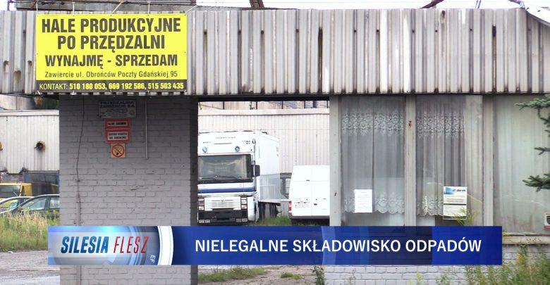 W jednej z hal magazynowych w Zawierciu policja odnalazła 3 tysiące pojemników z chemikaliami