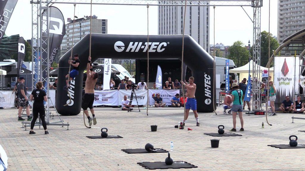 Dziś przed Spodkiem w Katowicach rozpoczęły się eliminacje ogólnopolskich zawodów Barbarian Katowice