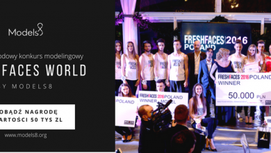 Ruda Śląska: Fresh Faces World by Models8. Międzynarodowy konkurs modelingowy. Zgłoś się i zawalcz o nagrodę w wysokości 50 tys. złotych! (fot.Models8/fb)