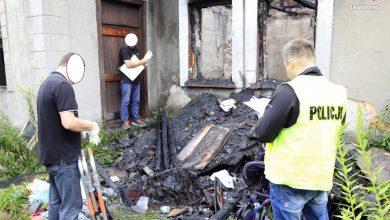 Jaworzno: Śmierć w płomieniach (fot.KMP Jaworzno)