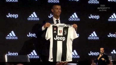 Cristiano Ronaldo już w Juventusie Turyn. Tłumy na oficjalnej prezentacji (fot.TVP Sport)