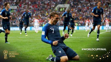 Francja - Chorwacja (fot. twitter FIFA)