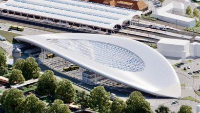 Gliwice przygotowują projekt budowy nowoczesnego Centrum Przesiadkowego (wiz. Pas Projekt sp. zo.o./UM Gliwice)