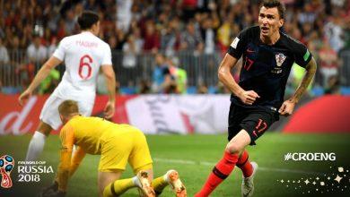 Chorwacja - Anglia (fot. twitter FIFA)