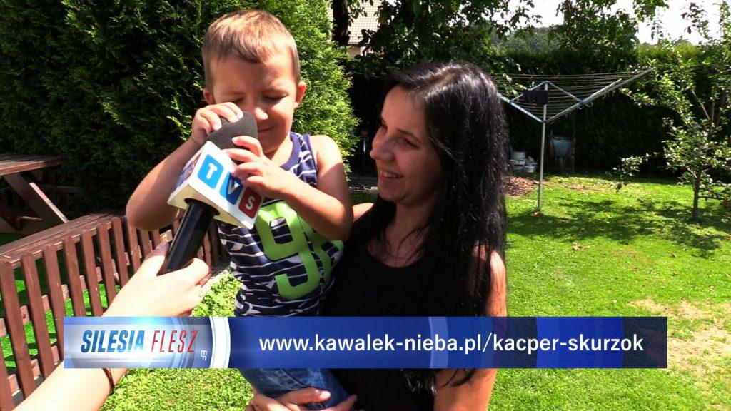 Państwo Skurzok z Kiczyc niedaleko Bielska-Białej walczą z przeciwnościami losu, ale przede wszystkim - o życie swojego dziecka