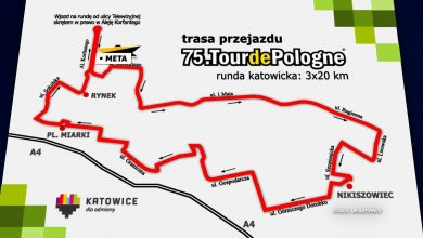 Uważajcie, gdzie parkujecie samochody w Katowicach. Mogą Wam je odholować z trasy Tour de Pologne 2018