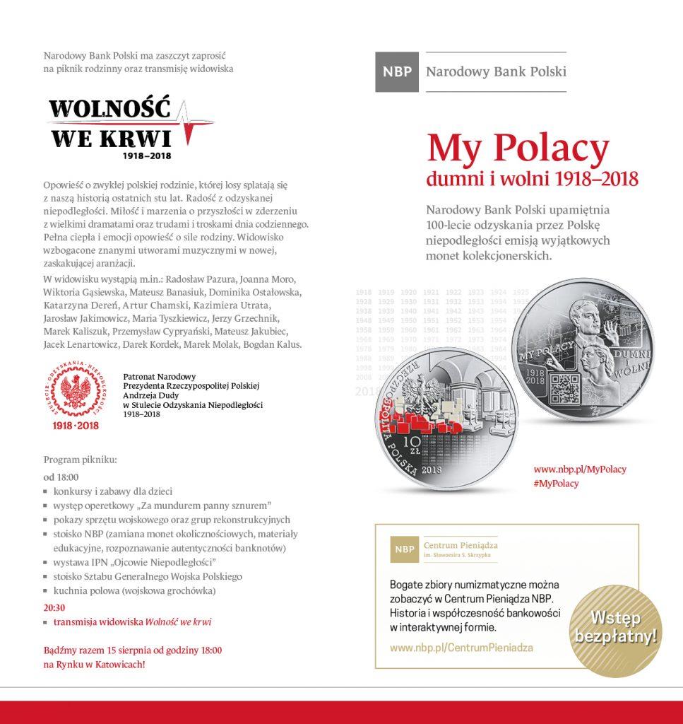 Święto Wojska Polskiego i rocznicę tzw. Cudu nad Wisłą świętują dzisiaj także Katowice