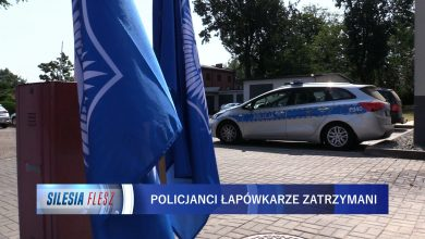 Policjanci z Żor zatrzymani! Przyjmowali łapówki od 30 do 3000 złotych [WIDEO] (fot.mat.TVS)